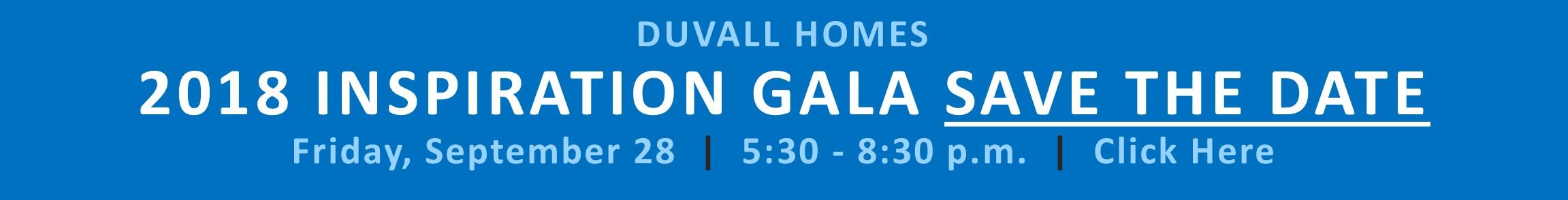 Duvall Homes Gala
