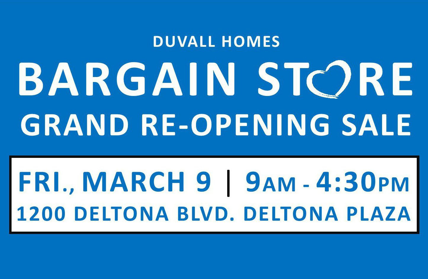 Deltona Bargain Store Grand Re-Opening