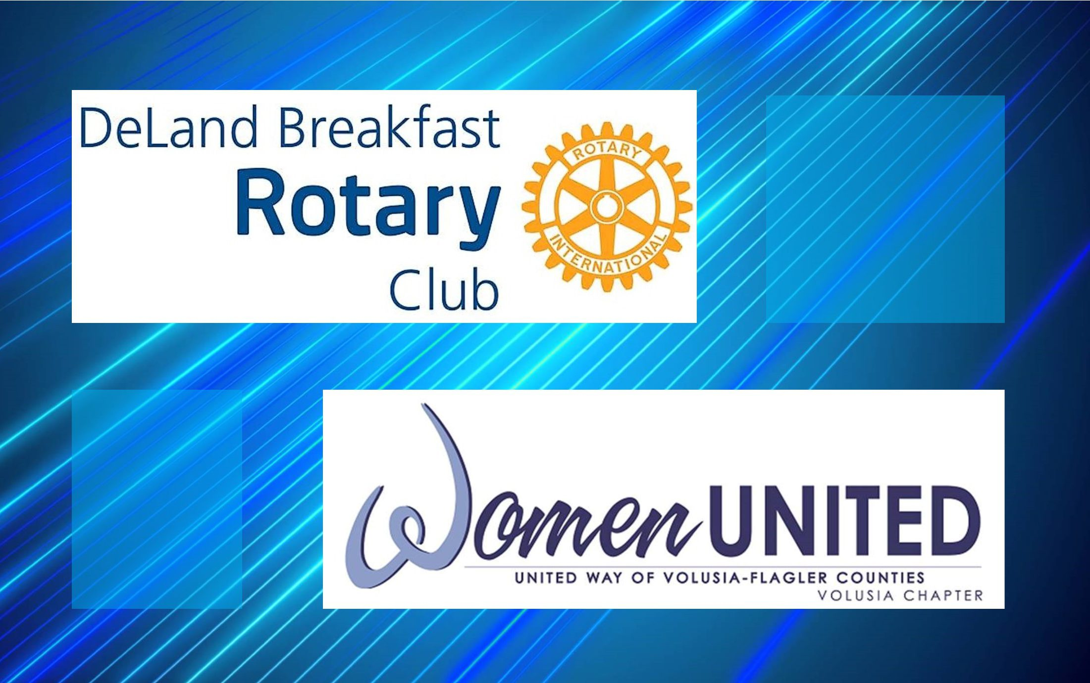 DeLand Breakfast Rotary & Women United