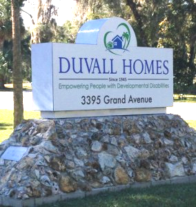 Duvall Homes Sign