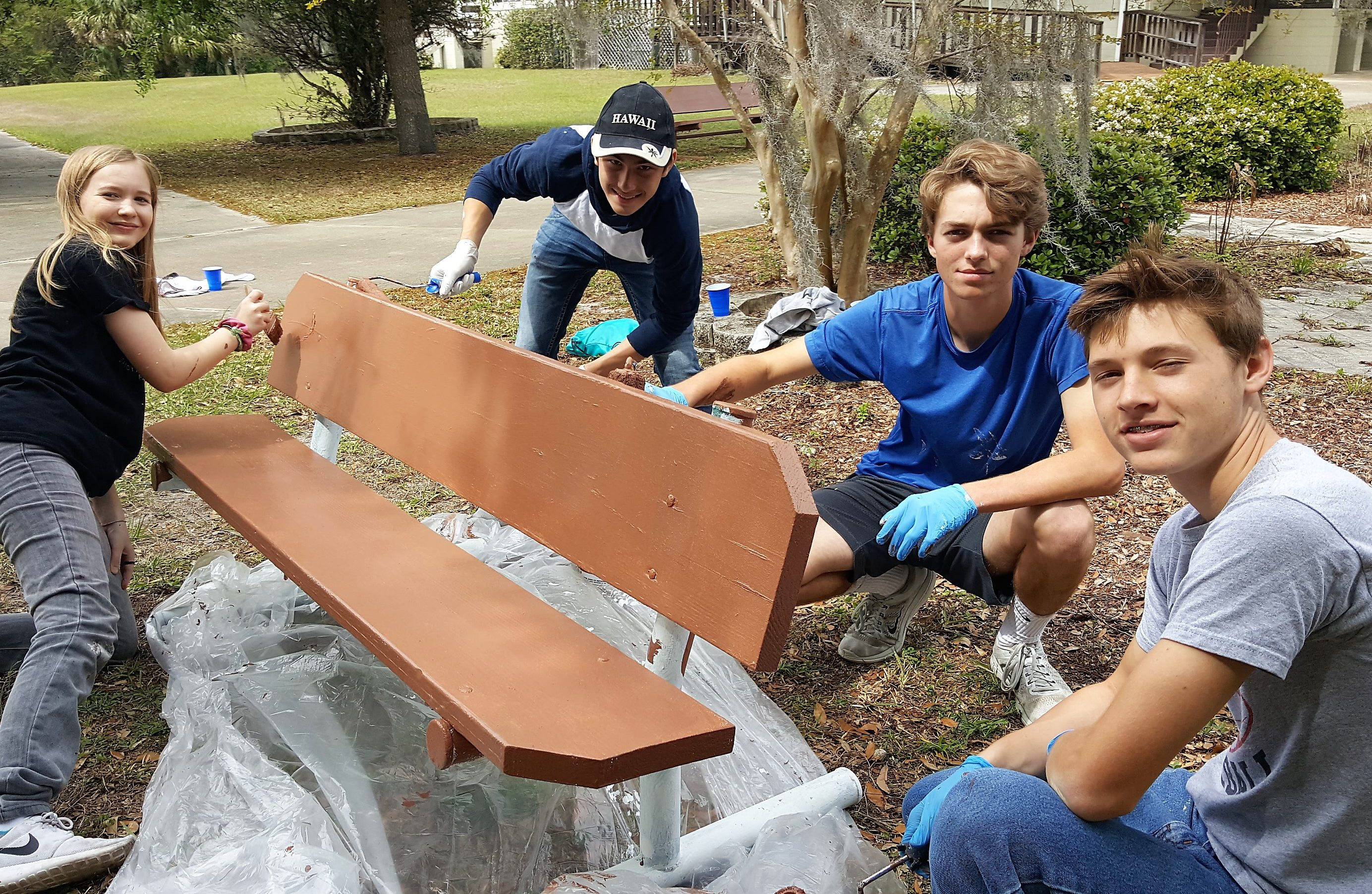 A Day of Service from Father Lopez Catholic High School